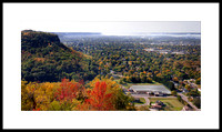 Cliffwood Bluff and La Crosse Floral in fall