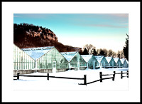 La Crosse Floral Greenhouses in Winter