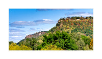 Grandad Bluff, La Crosse, Wisconsin, in early autumn